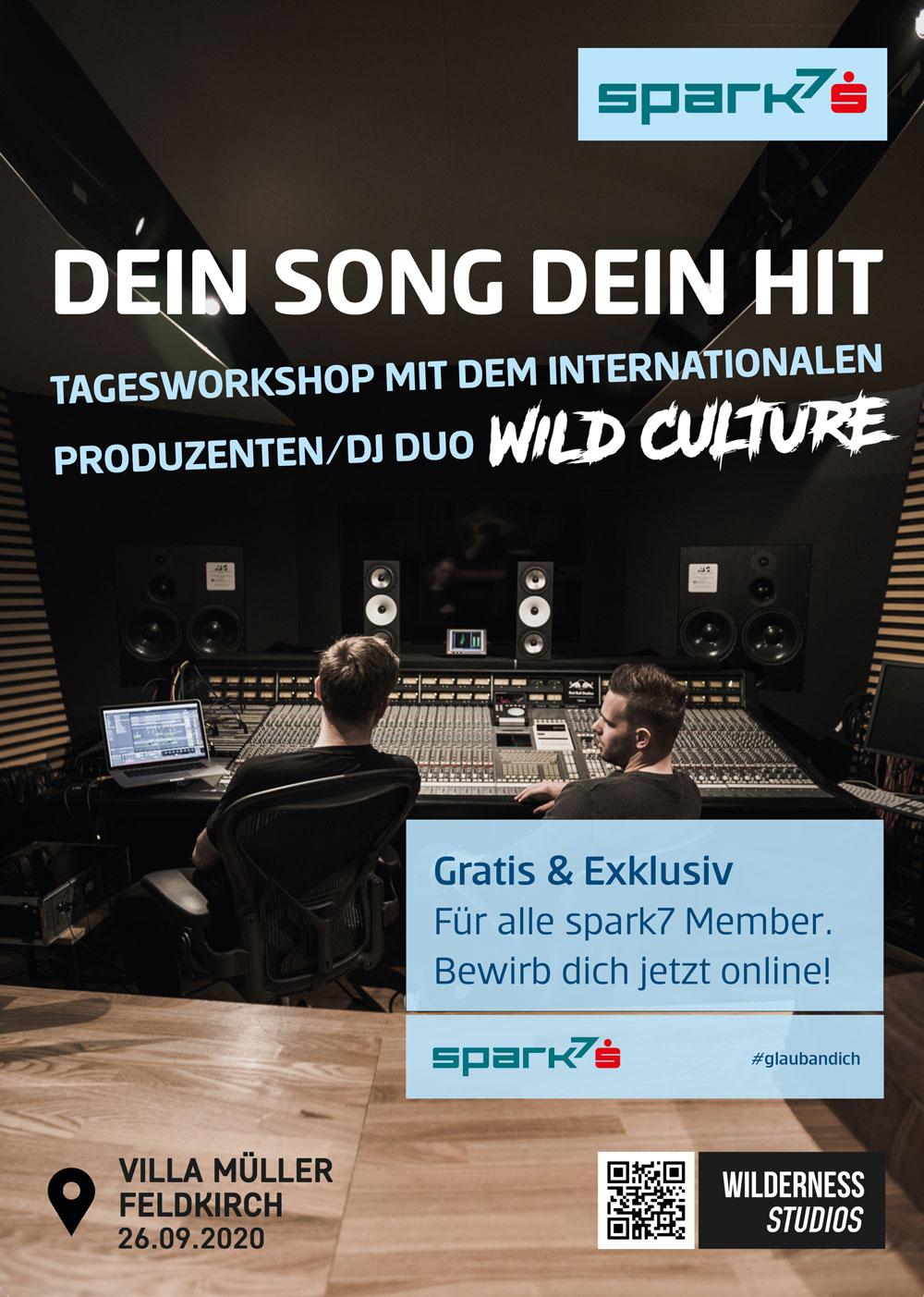 DJ Workshop mit Wild Culture und Spark7 Vorarlberg in der Villa Müller Feldkirch.