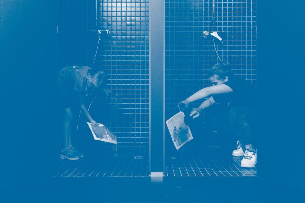 Cyanotypie Workshop. Malen mit Licht mit Fotograf Martin Schachenhofer.