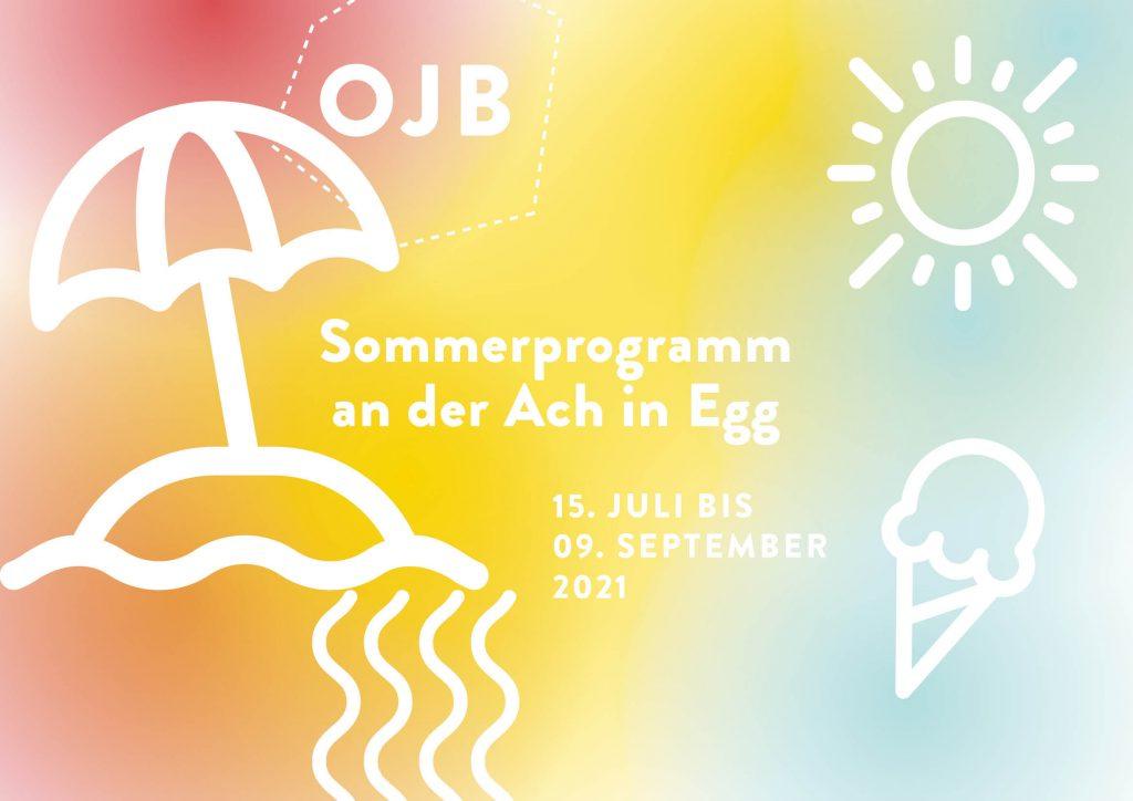 Sommerprogramm für Jugendliche an der Ach in Egg von der Offenen Jugendarbeit Bregenzerwald.
